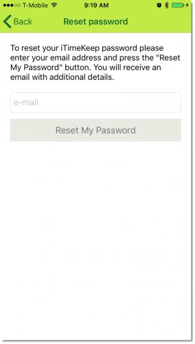 Reset Password 2 Shadow