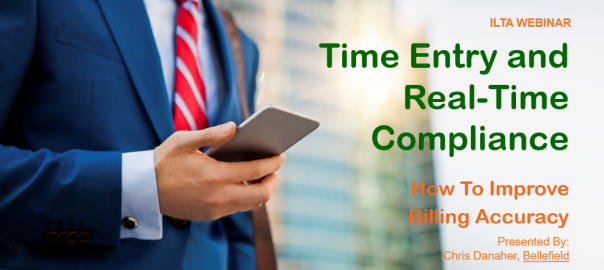 [Webinar] Time Entry and Real-Time Compliance – How They Improve Law Firms' Billing Accuracy