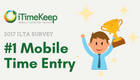 [Press Release] iTimeKeep Tops Mobile Time Entry List for 5th Consecutive Year