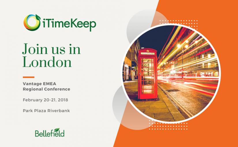 VANTAGE 2018 EMEA Regional Conference – London