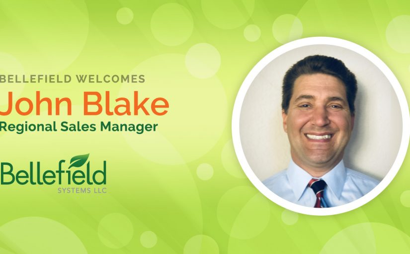 [Press Release] Bellefield Welcomes John Blake as Regional Sales Manager