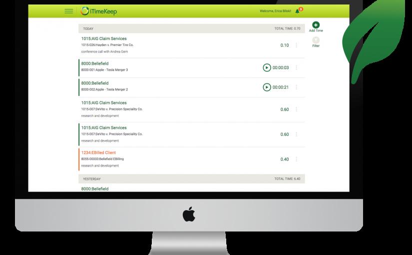 [Press Release] Bellefield Releases New Version of iTimeKeep Desktop