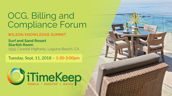 The Forum on OCG, Billing & Compliance – West Coast