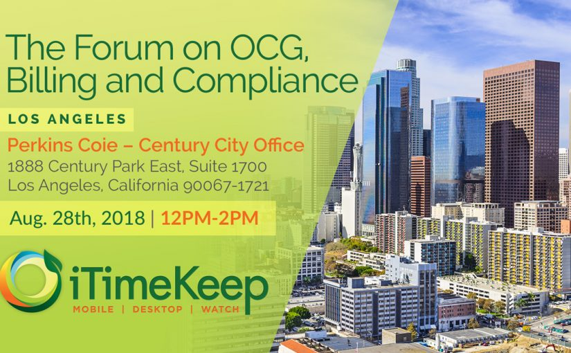 The Forum on OCG, Billing & Compliance – Los Angeles