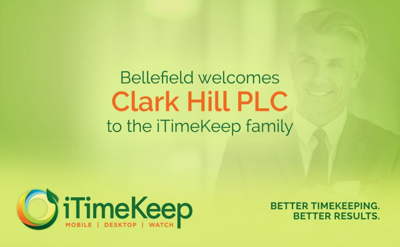[Press Release] Clark Hill Selects Bellefield Systems For Firm-Wide Time Entry Solution