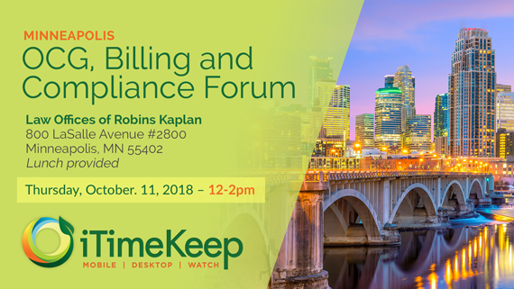 The Forum on OCG, Billing and Compliance – Minneapolis, MN