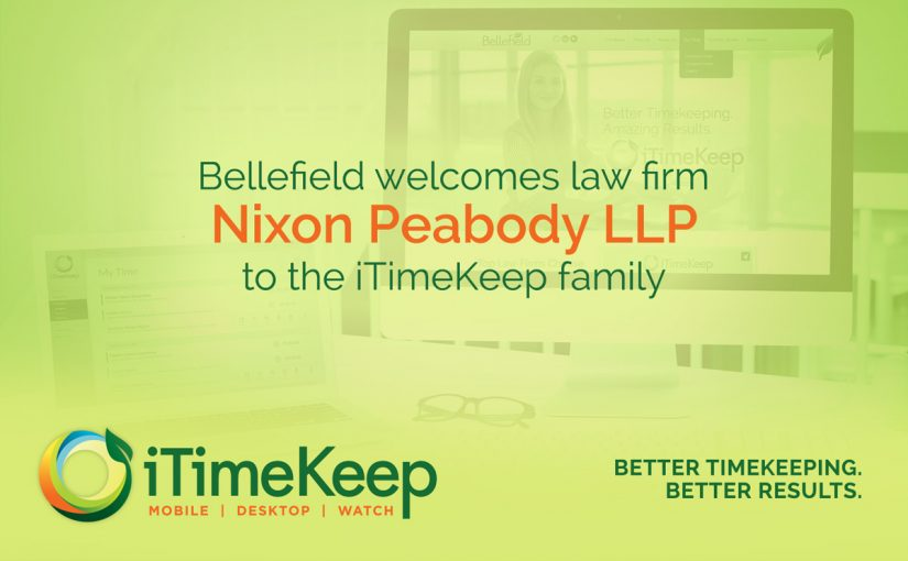 [Press Release] Nixon Peabody Chooses iTimeKeep for Firm-Wide Time Entry Solution
