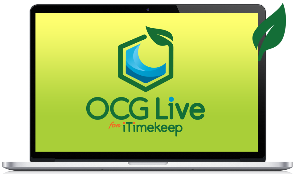 OCG Live™ for iTimeKeep