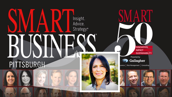 Gabriela Isturiz Named as a 2018 Pittsburgh Smart 50 Honoree