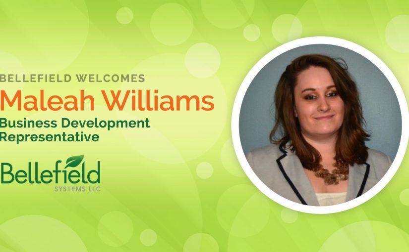 Bellefield Welcomes Maleah Williams as Business Development Representative