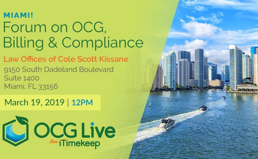 The Forum on OCG, Billing and Compliance – Miami, FL