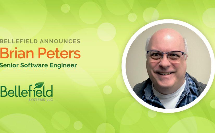 Bellefield Welcomes Brian Peters as Senior Software Engineer