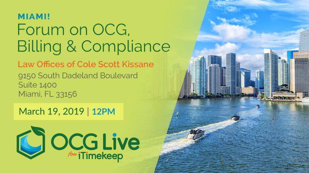 OCG Forum Miami