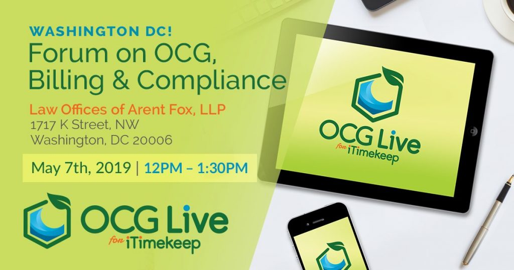OCG Forum in Washington DC